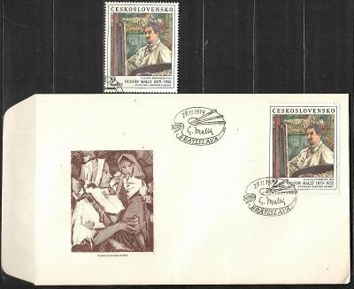 V9649   - FDC obálka prvního dne vydání + známky navíc