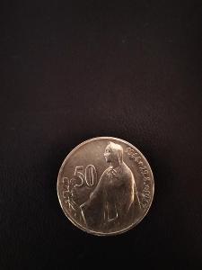 Ag 50 kč třetí výročí SNP