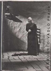 Národní divadlo inscenace Dům Doni Bernardy 1968