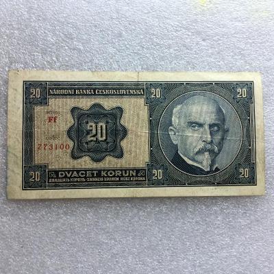 20 KČS 1927 NEP SER Ff.