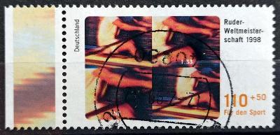 DEUTSCHLAND: MiNr.1970 Rowing 110pf+50pf, LK 1998