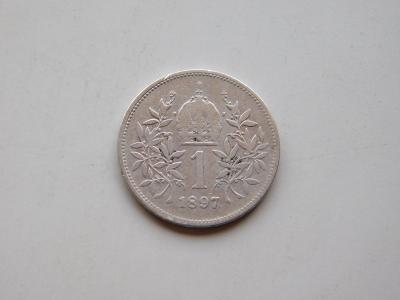 1 korona 1897 - vzacny rocnik
