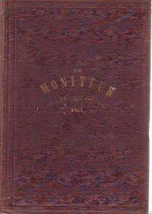 Le Moniteur de la Mode 1861