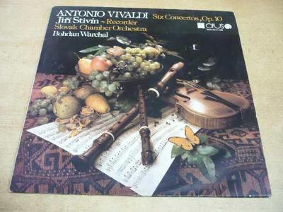 LP VIVALDI / Recorder Concertos - JIŘÍ STIVÍN