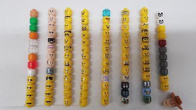 Lego hlavičky figurek od Legomania
