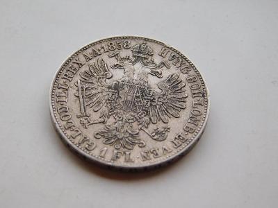 1 zlatnik 1858B -  vzacny rocnik !!! pekny stav