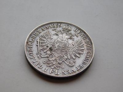 1 zlatnik 1859B - vzacny rocnik !!! pekny stav