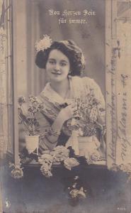 ŽENA KVĚTINY-1910