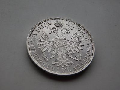 1 zlatnik 1861B - extremne vzacny rocnik !!! unikatny stav 0/0 RL