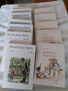 Knihy Školák Kája Mařík a Řídících Márinka