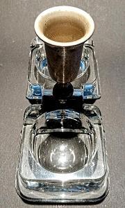 Luxusní stará solnička 14 X 10 cm TOP STAV bez poškození