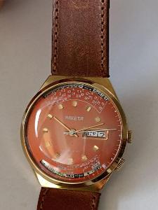 ! RAKETA s věčným kalendářem TOP stav nikdy nošených hodinek !