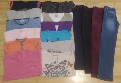 Sada dívčího oblečení vel. 140