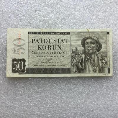 50 KČS 1950 NEP SER A 11.