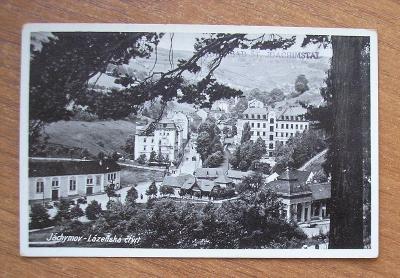 JÁCHYMOV  Sankt Joachimsthal  / Karlovy Vary /