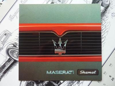 PROSPEKT - MASERATI SHAMAL - 1992