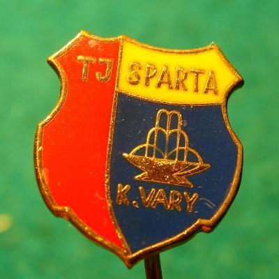 odznak / TJ SPARTA KARLOVY VARY /4