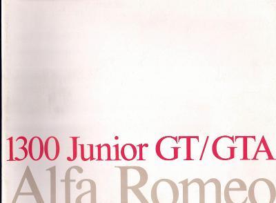 Alfa Romeo 1300 Junior GT a GTA