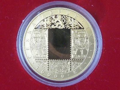 Au 10.000 Kč 2019 československá měna, kvalita proof, 1 OZ