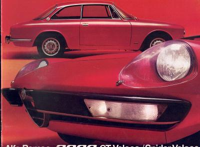 Alfa Romeo 2000 GT Veloce a Spider Veloce