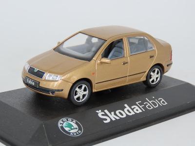 Škoda Fabia Sedan 1:43 Kaden