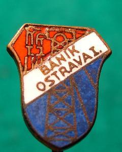 odznak / TJ BANÍK OSTRAVA I/6