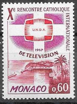 Monaco, Mi 841, **