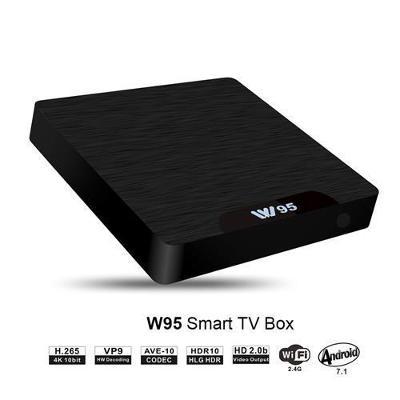 Tv Box - Android - W95 - 4K - 16GB (Bez ovladače) / Od Korunky!