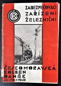 """""""Zabezpečovací zařízení železniční"""" V. Machytka (1931)"""