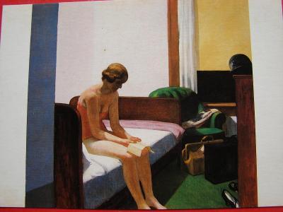 ŽENA Ženy Dívka AKT v umění Edward HOPPER