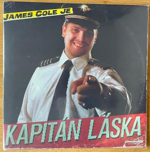 James Cole Kapitán láska vinyl vypredané ručne číslované