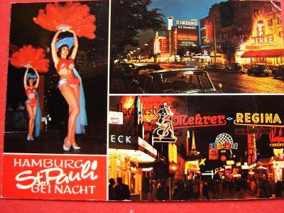 ŽENA Ženy Dívka AKT HAMBURG St.Pauli