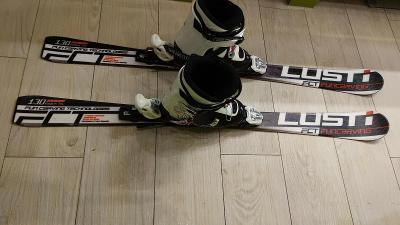 Dětské lyže Lusti Fun Carving 130cm a boty Dalbello vel. 25