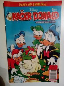 Časopis, Kačer Donald, č. 6/2014, pěkný stav