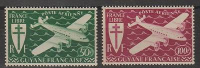 francúzsky Martinik 1945 ** letecké komplet yt. PA 4-5