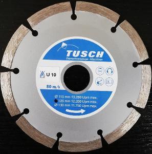 Německý diamantový kotouč Tusch U10 125 mm