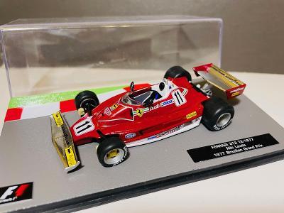 Model Formule F1 Ferrari 312T2 Lauda 1977 1:43 (Altaya IXO Minichamps