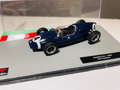 Model Formule F1 Cooper T51 Moss 1959 1:43 (Altaya, IXO, Minichamps...