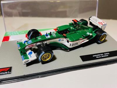 Model Formule F1 Jaguar R4 Webber 2003 1:43 (Altaya Minichamps