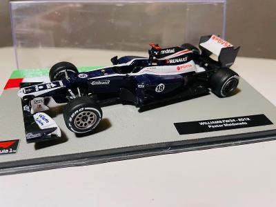 Model Formule F1 Williams Renault Maldonado 2012 1:43 (Altaya RBA IXO