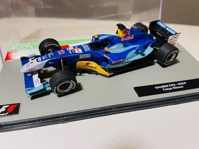 Model Formule F1 Sauber Petronas Massa 2004 1:43 (Altaya Minichamps