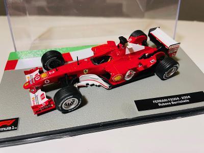 Model Formule F1 Ferrari F 2004 Barichello 1:43 (Altaya Minichamps