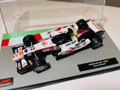 Model Formule F1 Honda Button 2006 1:43 (Altaya RBA Minichamps