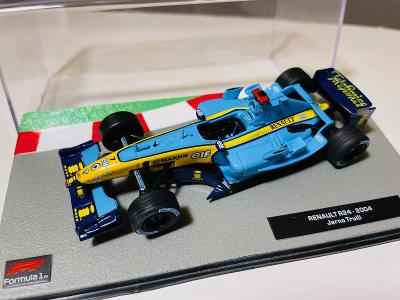 Model Formule F1 Renault R24 Trulli 2004 1:43 (Altaya, Minichamps RBA