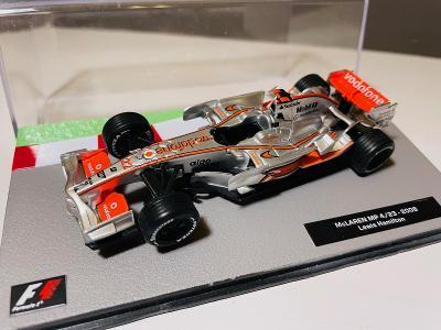 Model Formule F1 McLaren Mercedes Hamilton 2008 1:43 (Altaya RBA