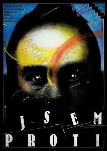 Jsem proti Zdeněk Ziegler film plakát A3 1987