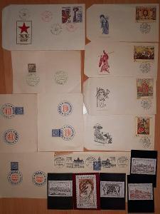 pofis+známky československo- výstava