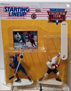 Starting lineup NHL figurka - Bobby + Brett Hull