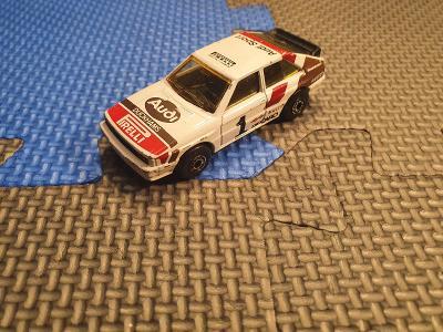 Audi Quattro      1:58   Matchbox