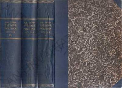 Světová politika v letech 1871-1914 1-6 (3 svazky)